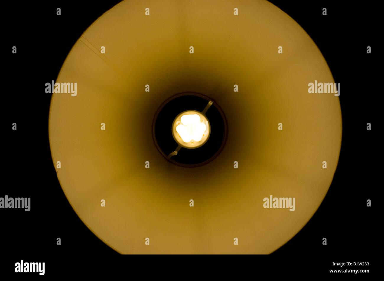 Circular lamp shade stock photos circular lamp shade stock images energy saving bulb with circular lamp shade stock image aloadofball Gallery