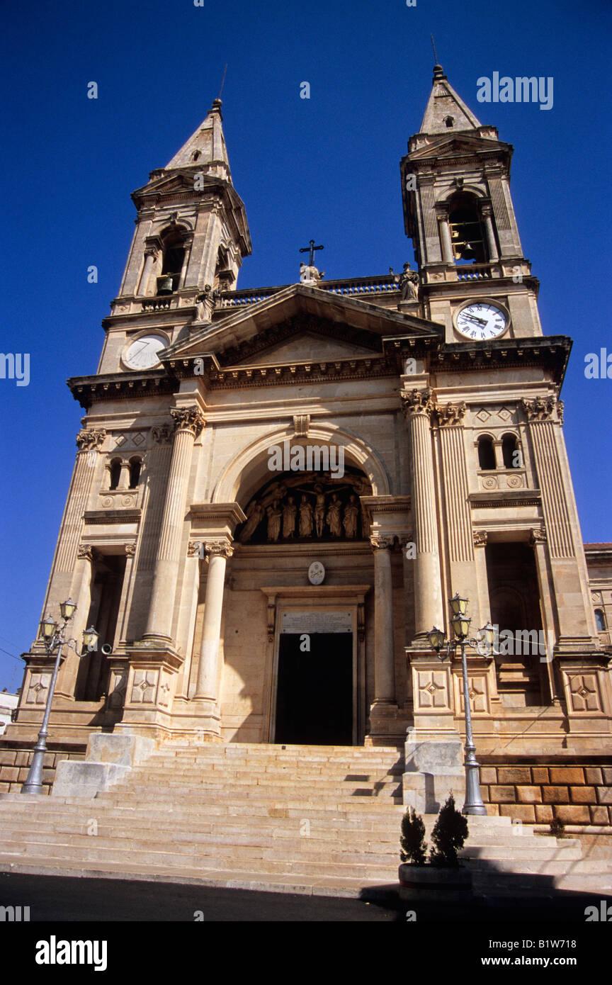 cathedral, alberobello, province of bari, puglia, italy - Stock Image