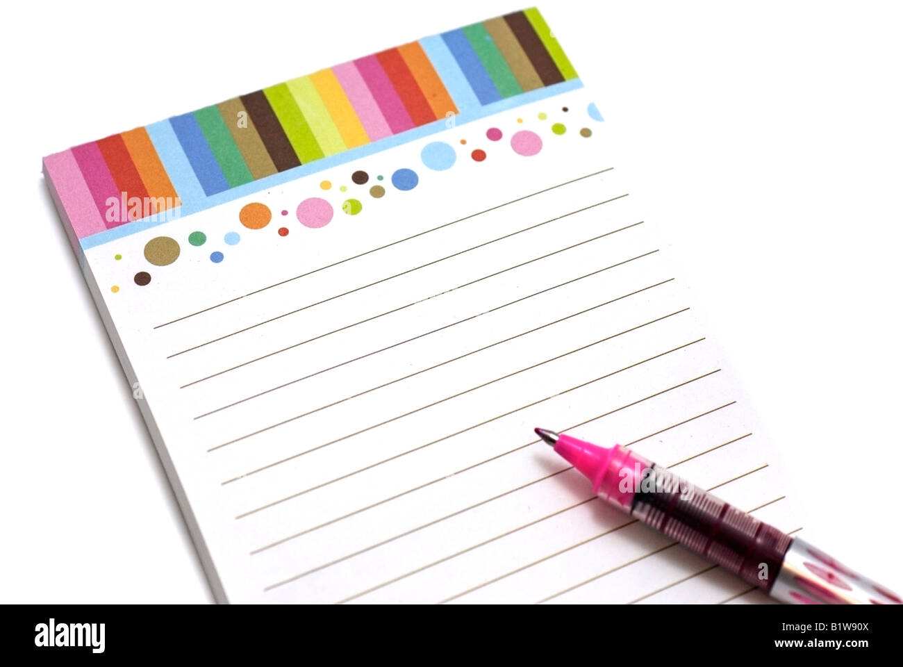 Memo / Note Pad - Stock Image