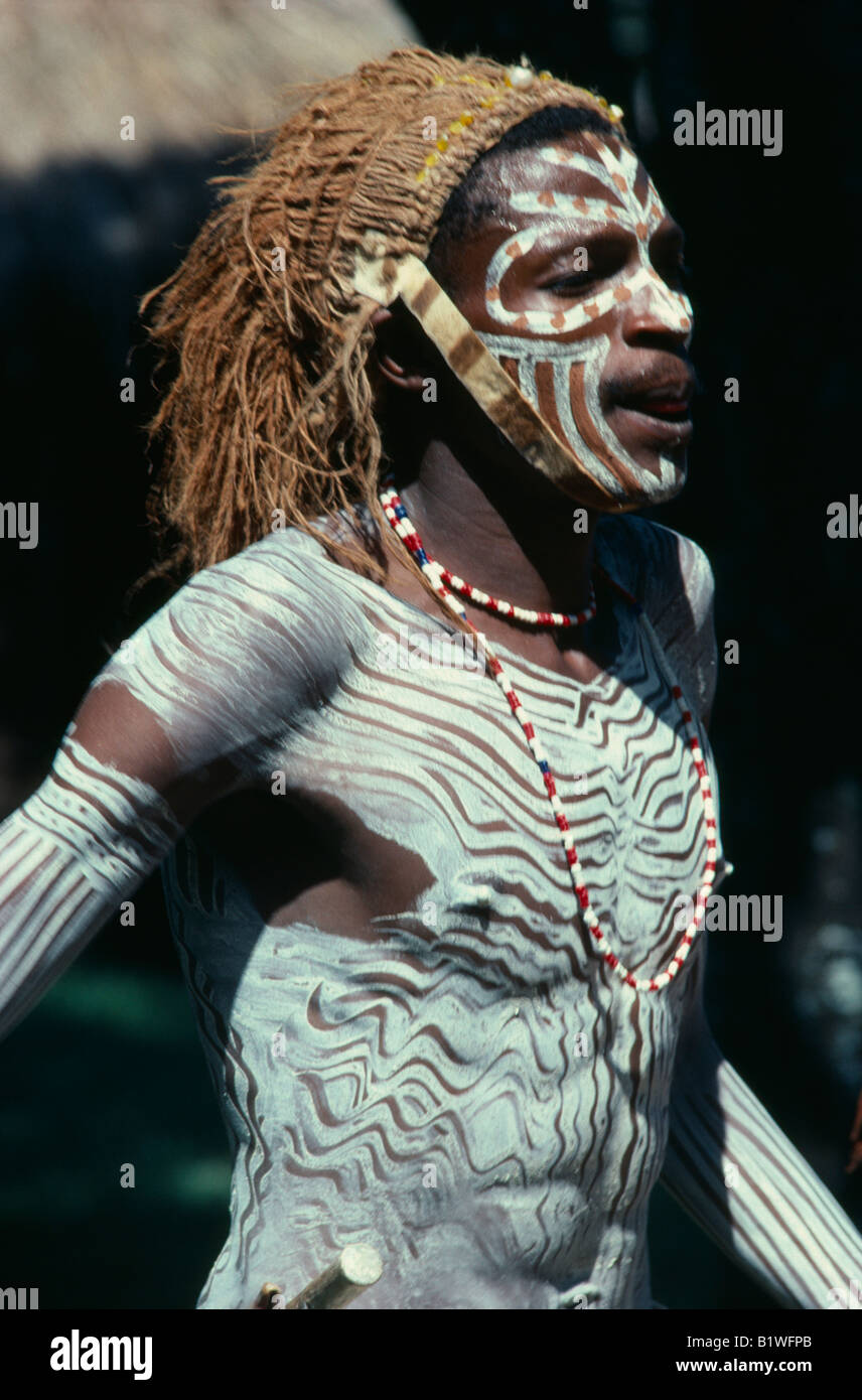 Tribal Paint Body Male African