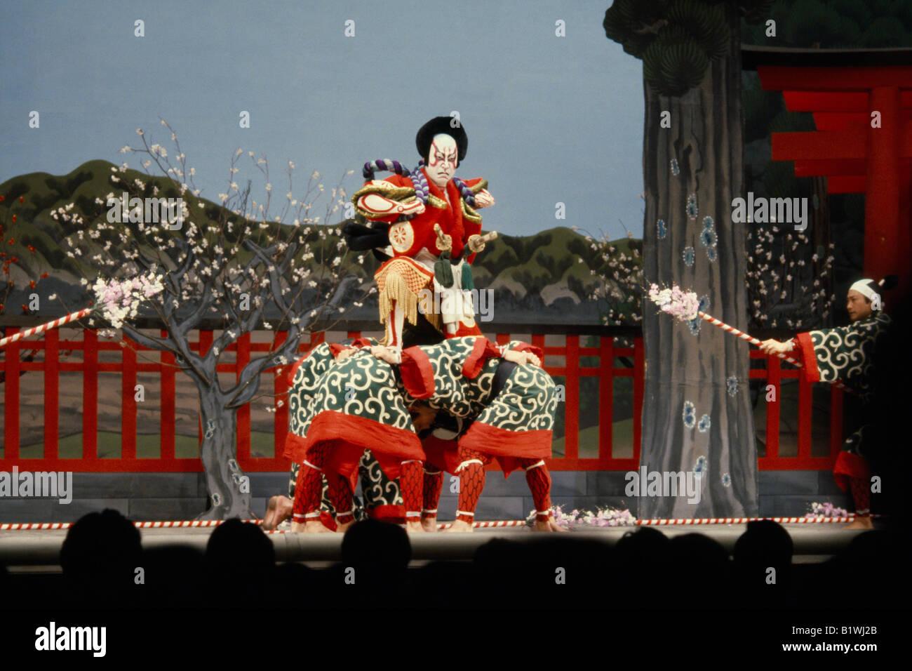 JAPAN Arts Performance - Stock Image