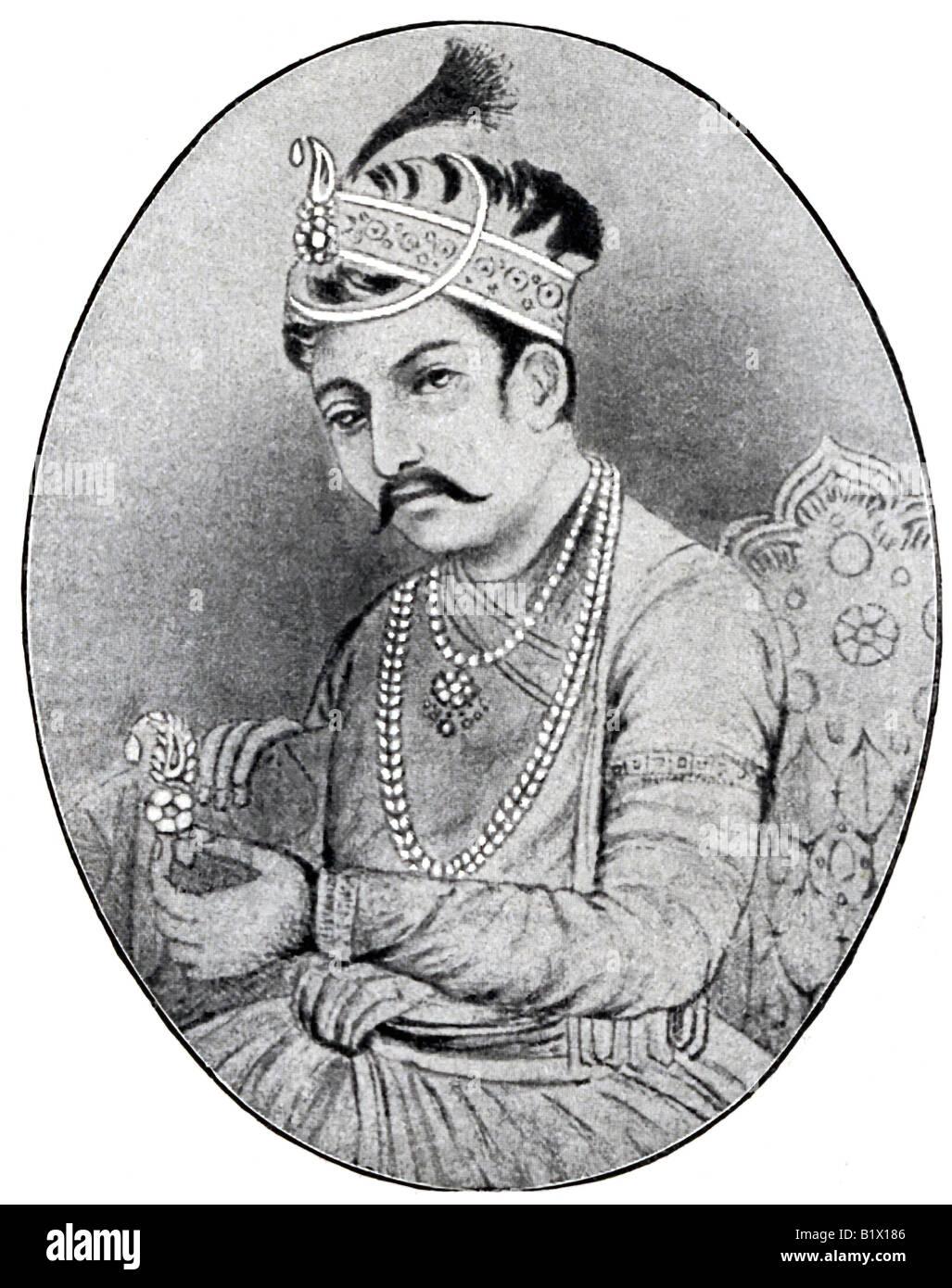 Akbar the Great - Stock Image