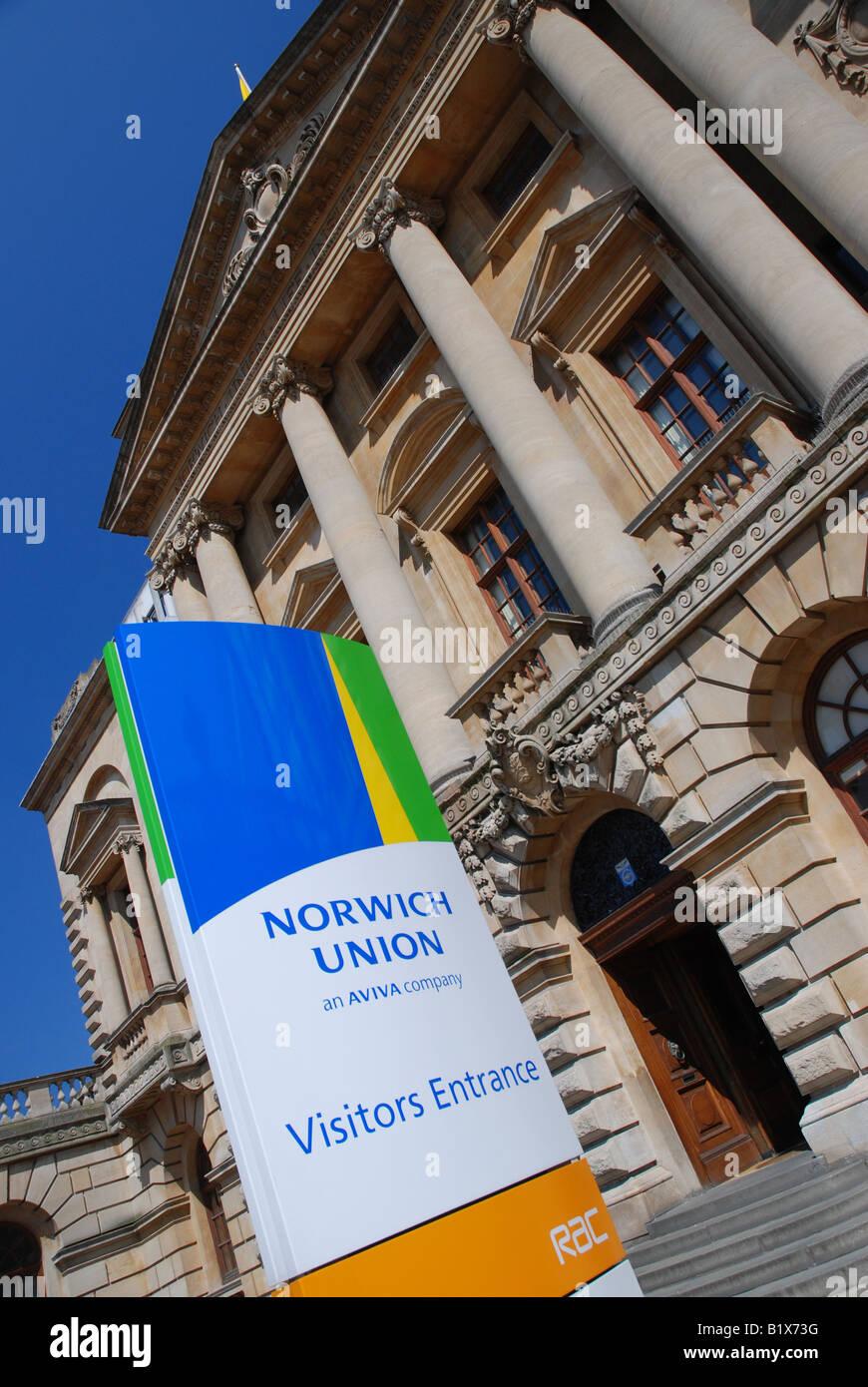 Surrey House, headquarters of Norwich Union Insurance, Norwich - Stock Image