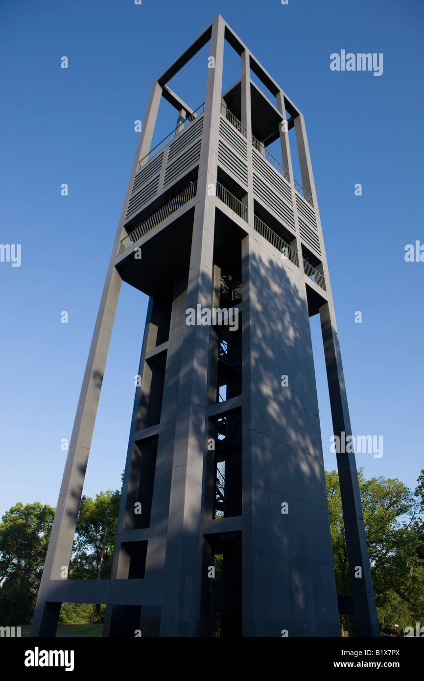 The Netherlands Carillon at Arlington National Cemetery was a gift from the people of the Netherlands to the people of the USA Stock Photo