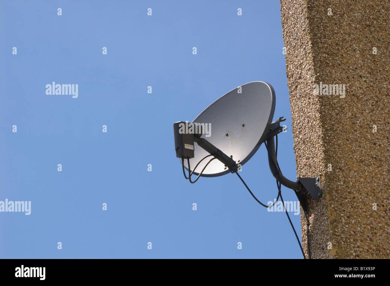 Satellite dish 1/2 - Stock Image
