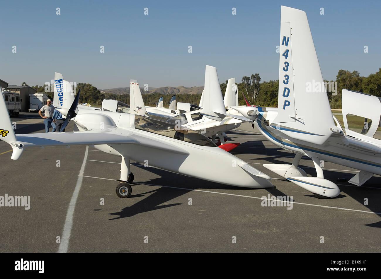 Homebuilt Experimental Aircraft Composite Stock Photos