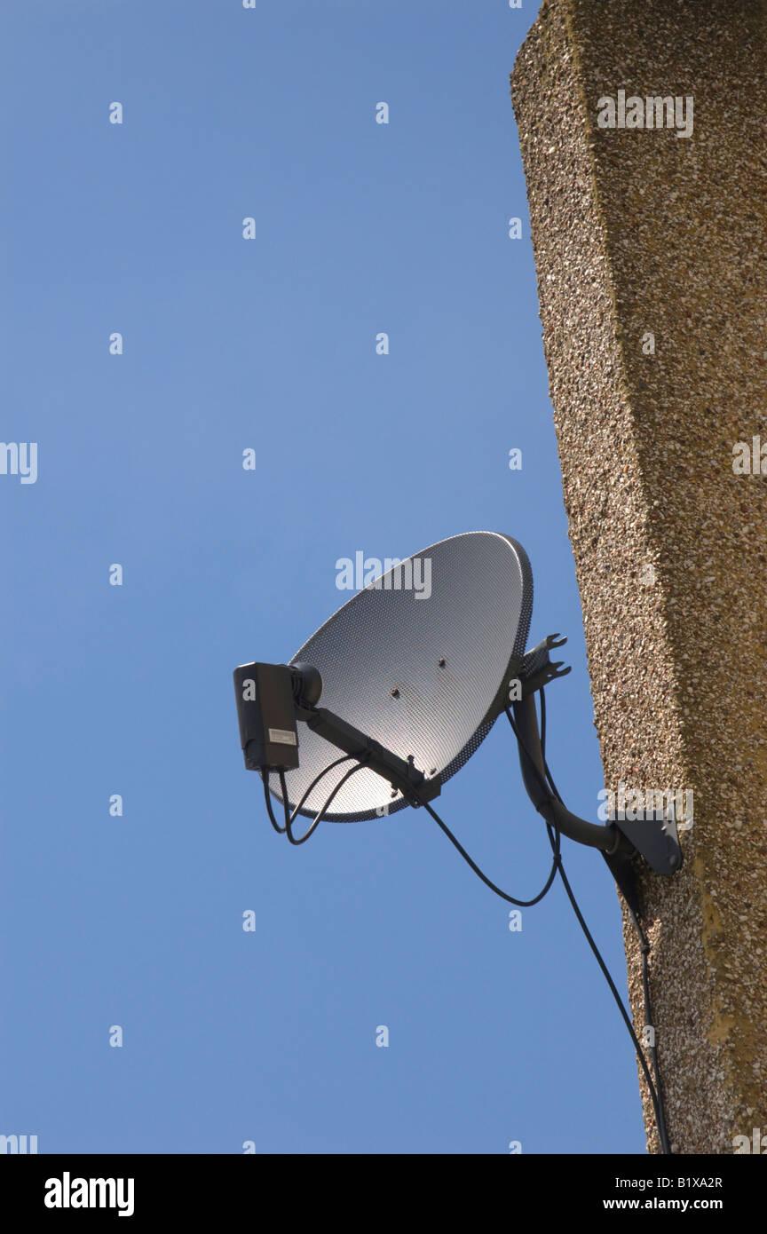 Satellite dish 2/2 - Stock Image