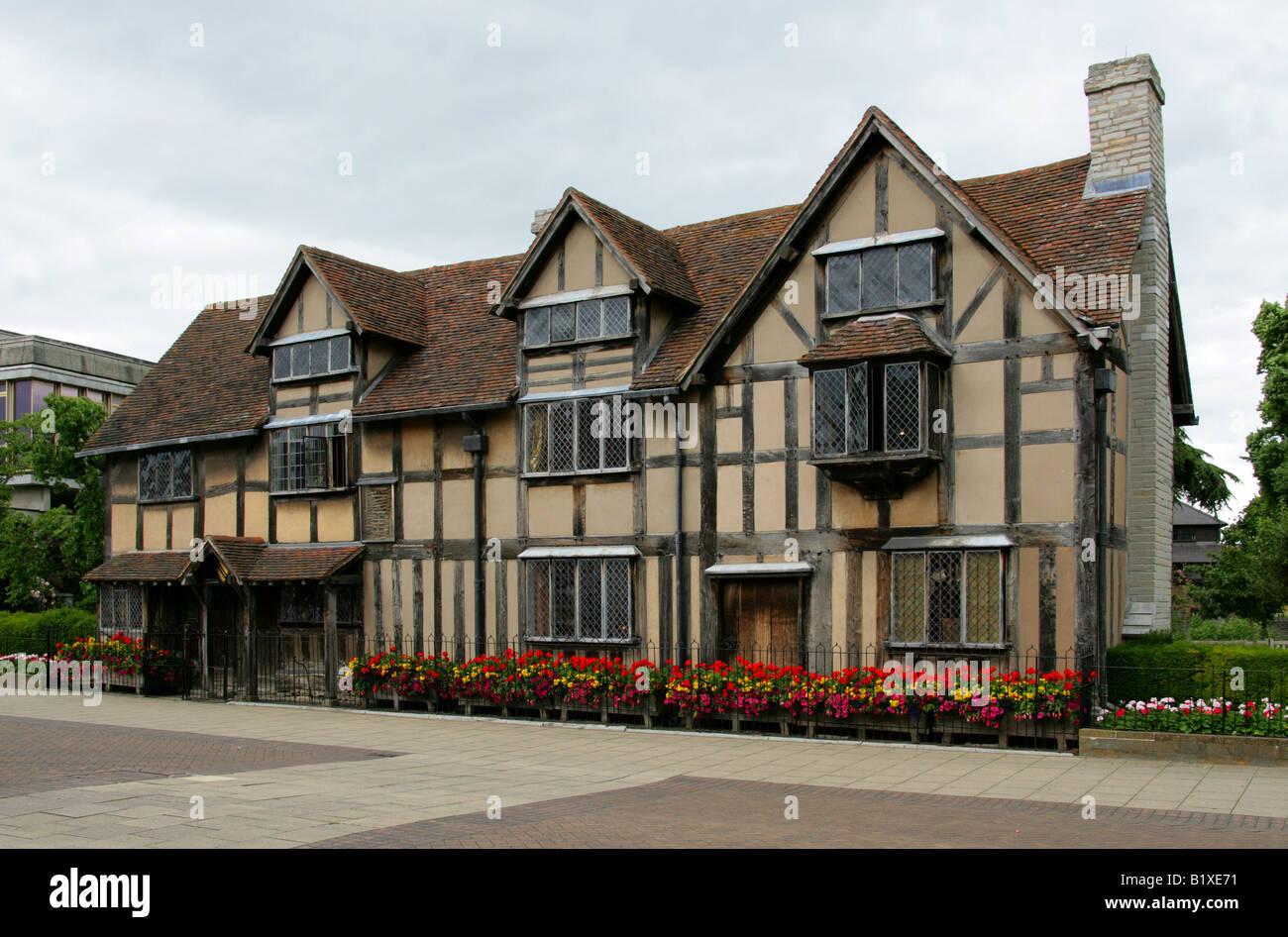 The Birthplace Of William Shakespeare 1564 1616 Stratford Upon Avon Warwickshire