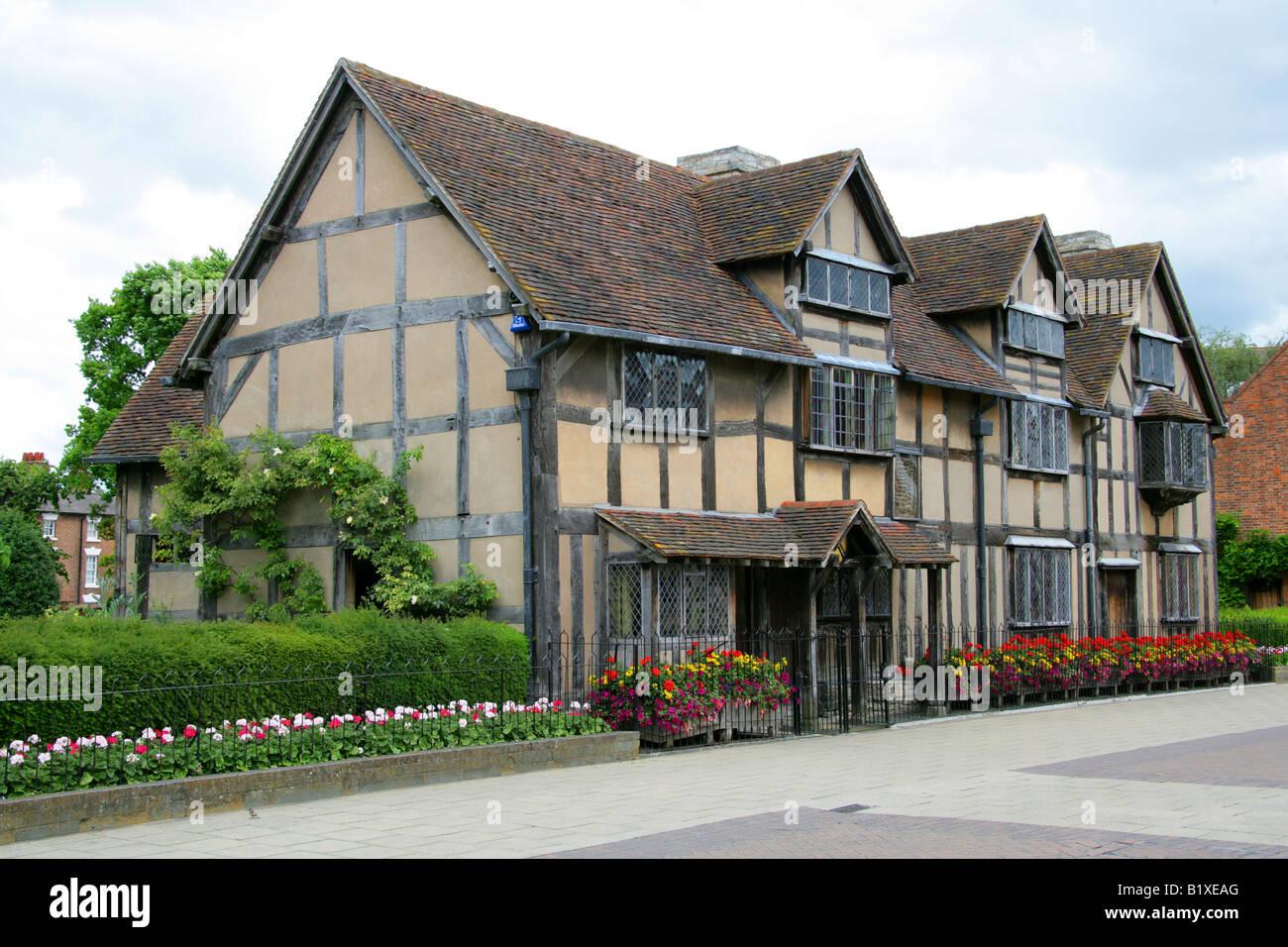 The Birthplace Of William Shakespeare 1564 1616 Stratford Upon Avon Warwickshire UK England