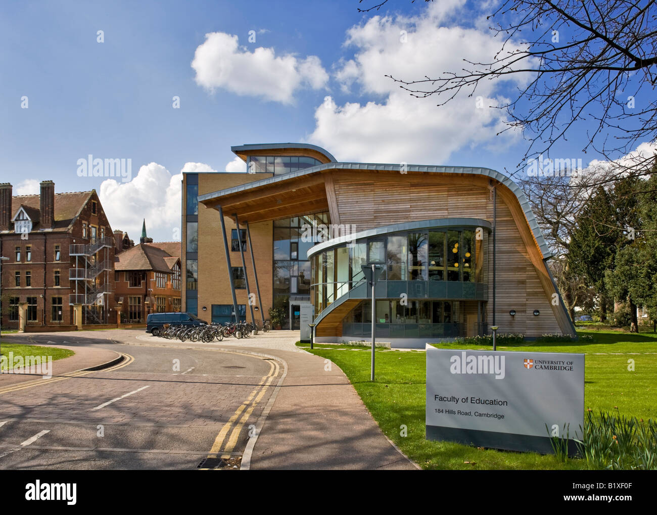 Faculty of Education Cambridge - Stock Image