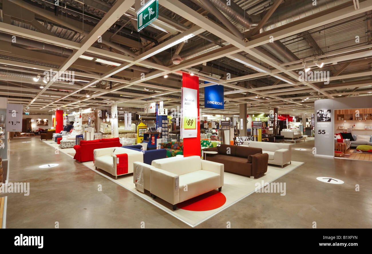 Ikea Furniture Store In Coventry Stock Photo 18408313 Alamy
