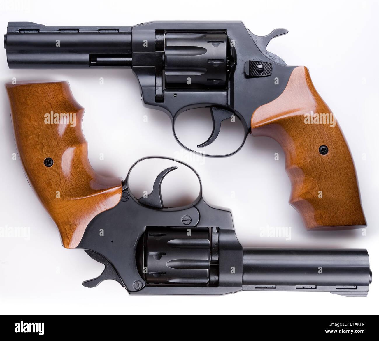 guns - Stock Image
