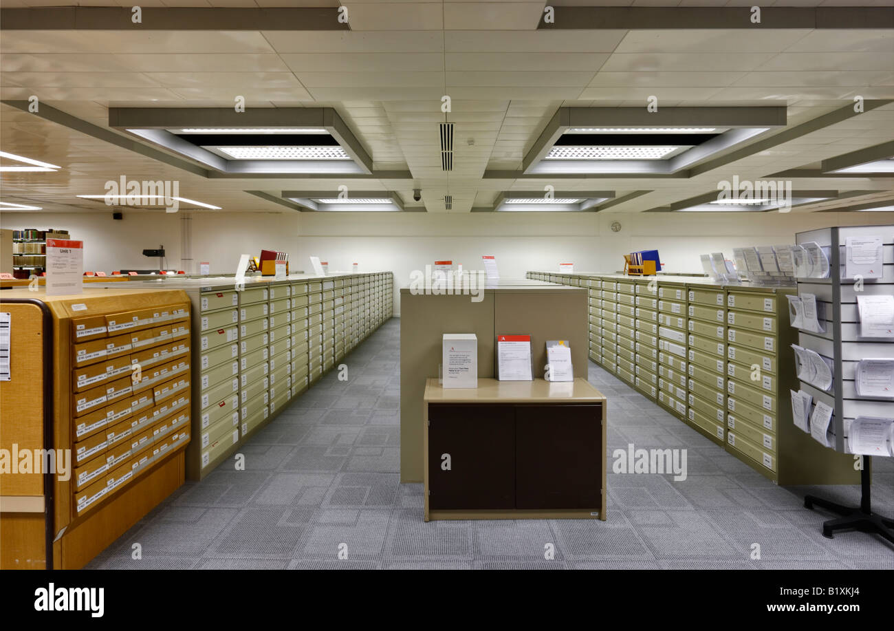 The National Archive in Kew London - Stock Image