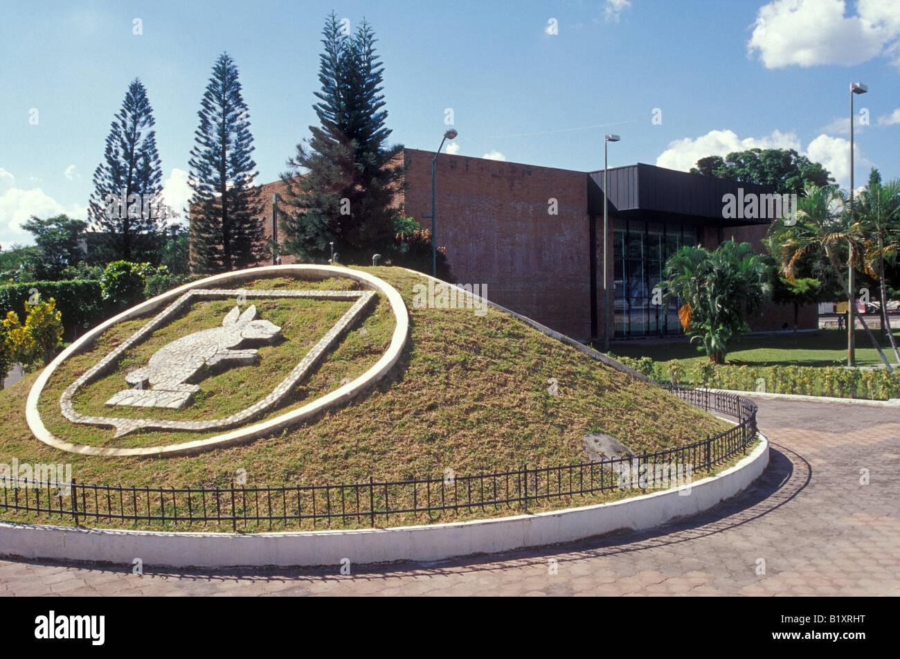 The Museo Regional de Chiapas archaeological museum  in Tuxtla Gutierrez, Chiapas, Mexico - Stock Image