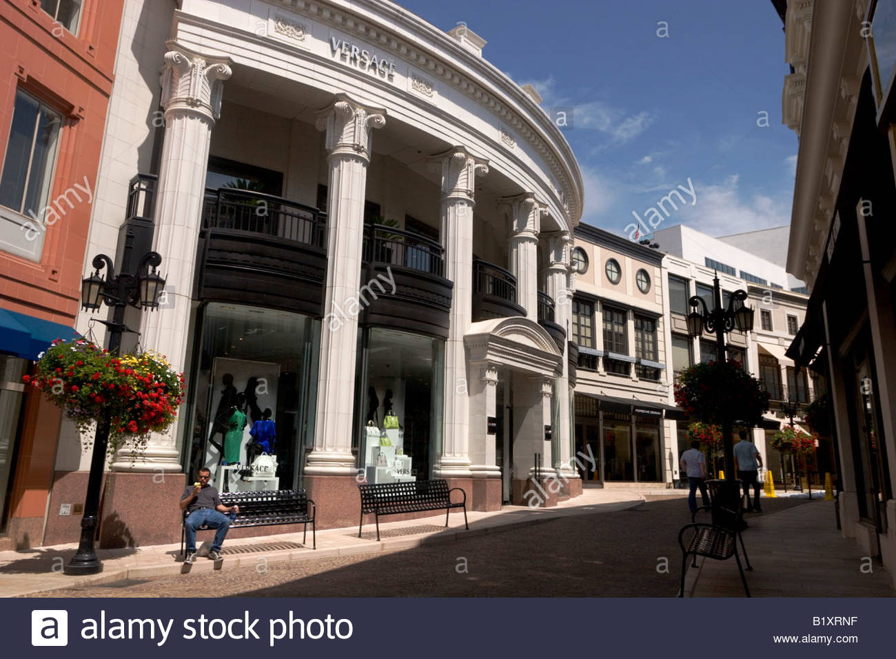195345212573 Versace Store at Rodeo Drive Beverly Hills California Stock Photo ...