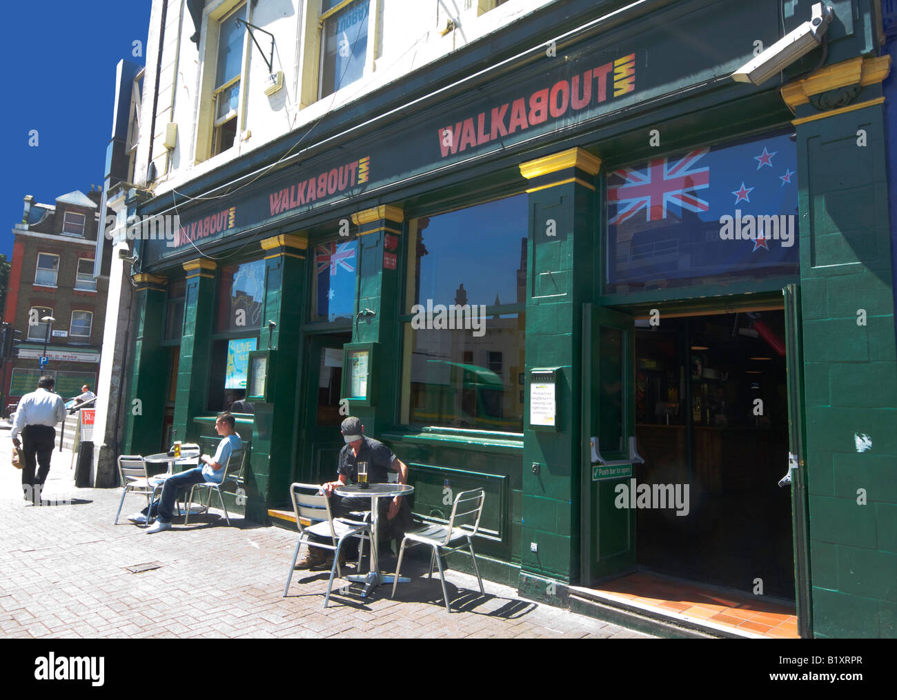 Walkabout Pub Upper Street Islington London - Stock Image