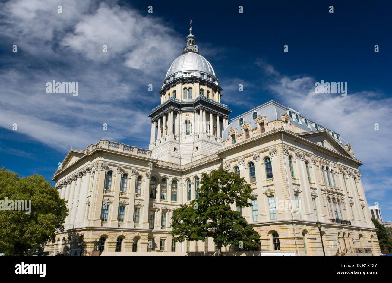 State Capitol of Illinois - Stock Image