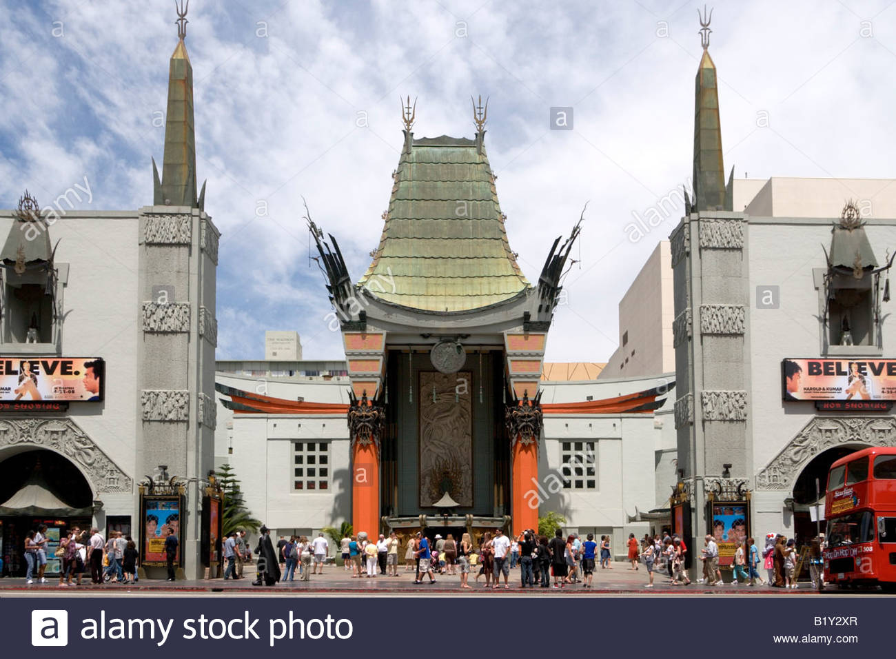 Graumans Chinese Theatre Hollywood California - Stock Image