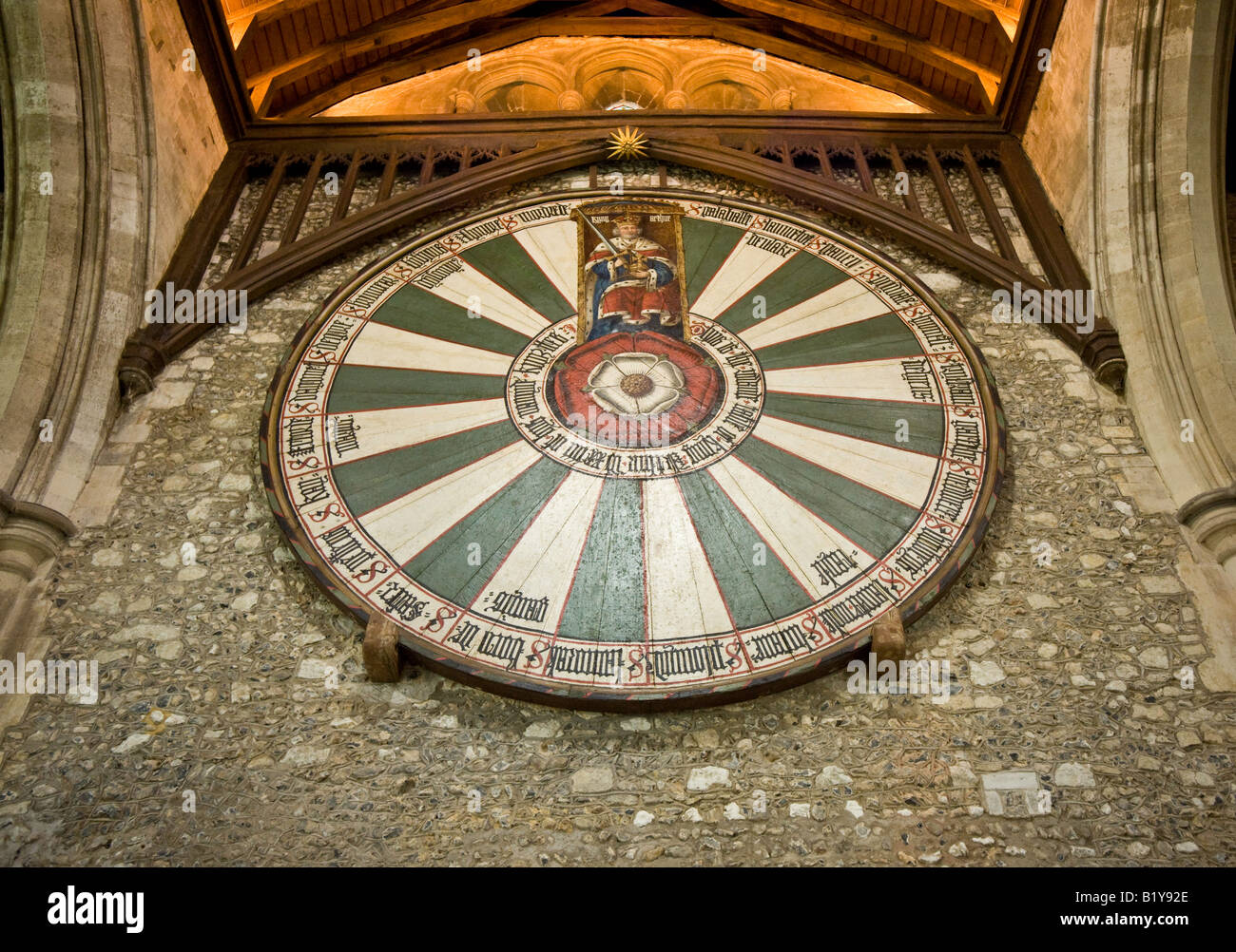 The Round Table, Winchester, UK Stock Photo