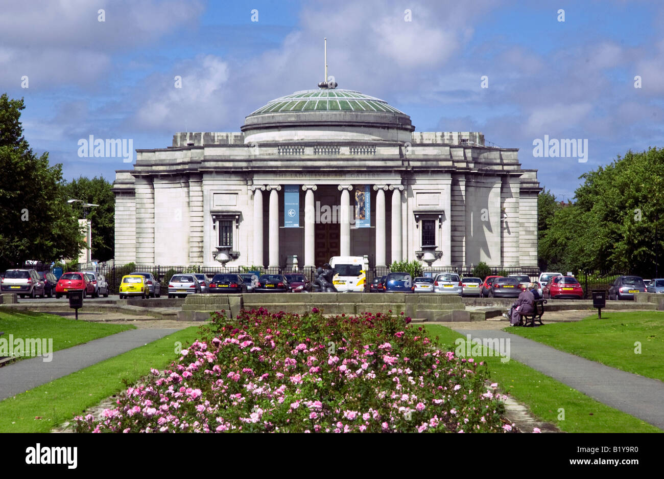 Lady Lever art gallery in Port Sunlight village on the Wirral. - Stock Image