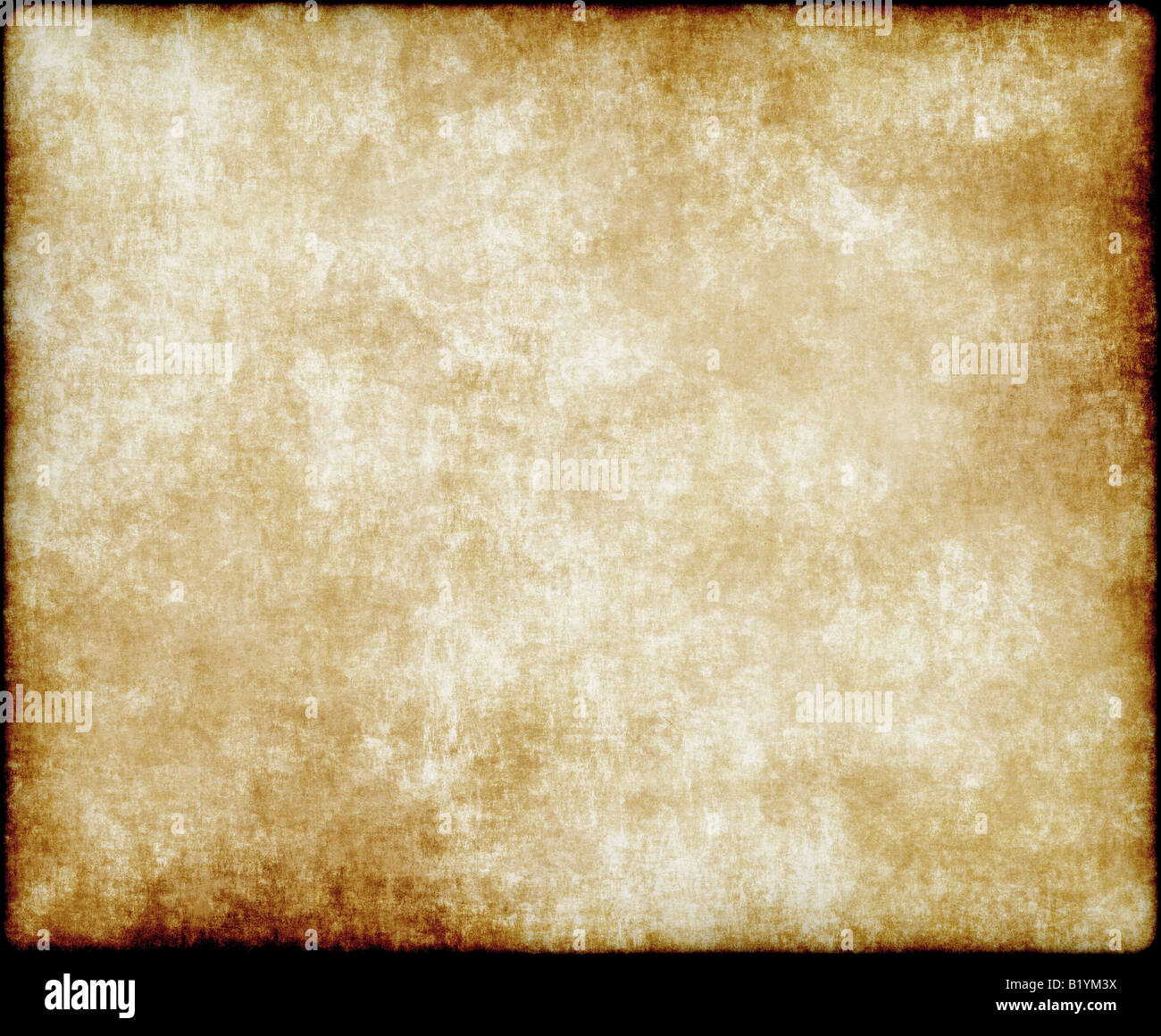 large old paper or parchment background texture - Stock Image