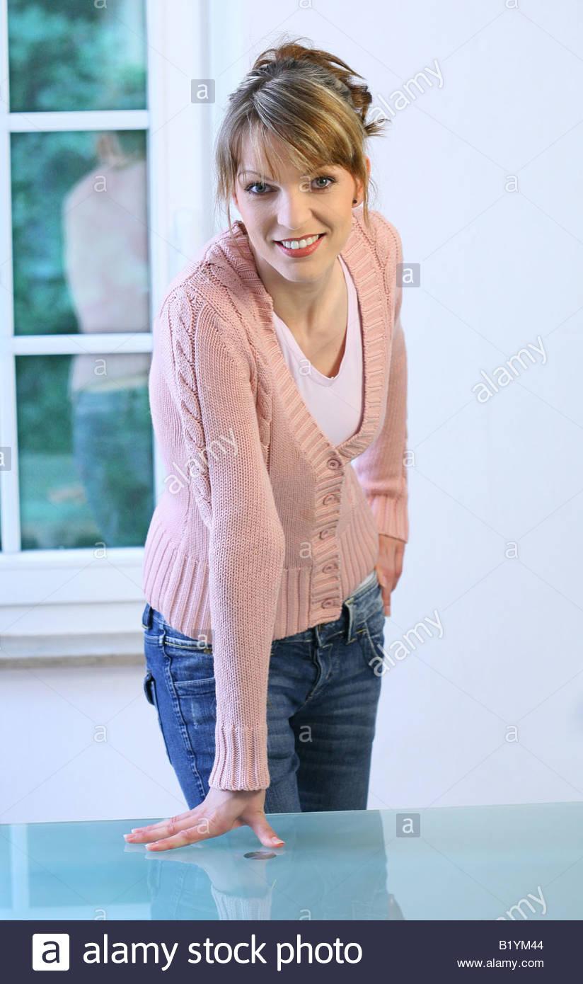 self-confident woman Stock Photo