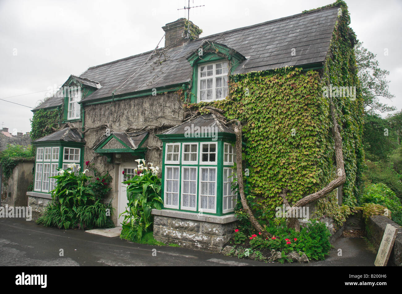 Ivy cottage stock photos ivy cottage stock images alamy for The ivy house