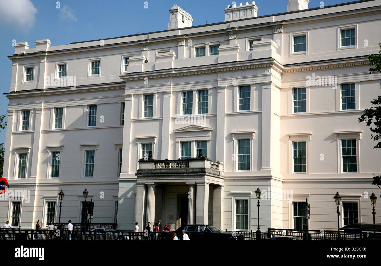 Lanesborough Hotel, Hyde Park Corner, London - Stock Image