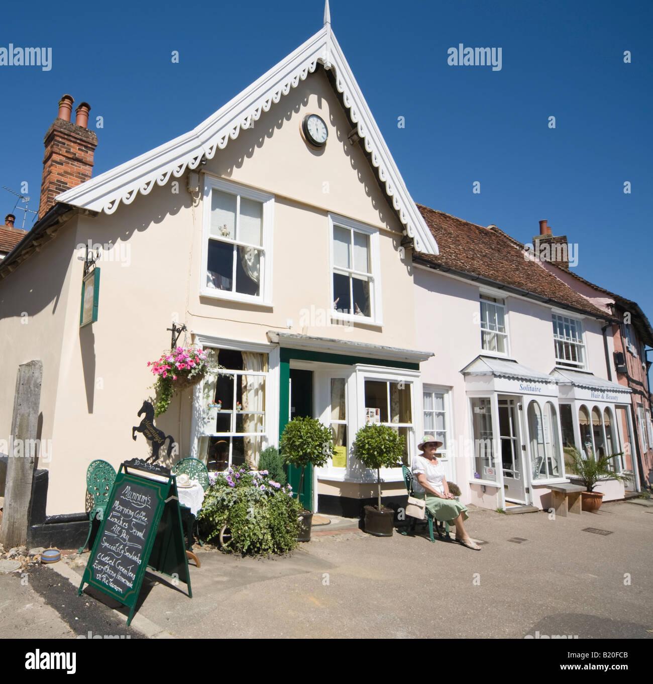 Lavenham Suffolk - Stock Image