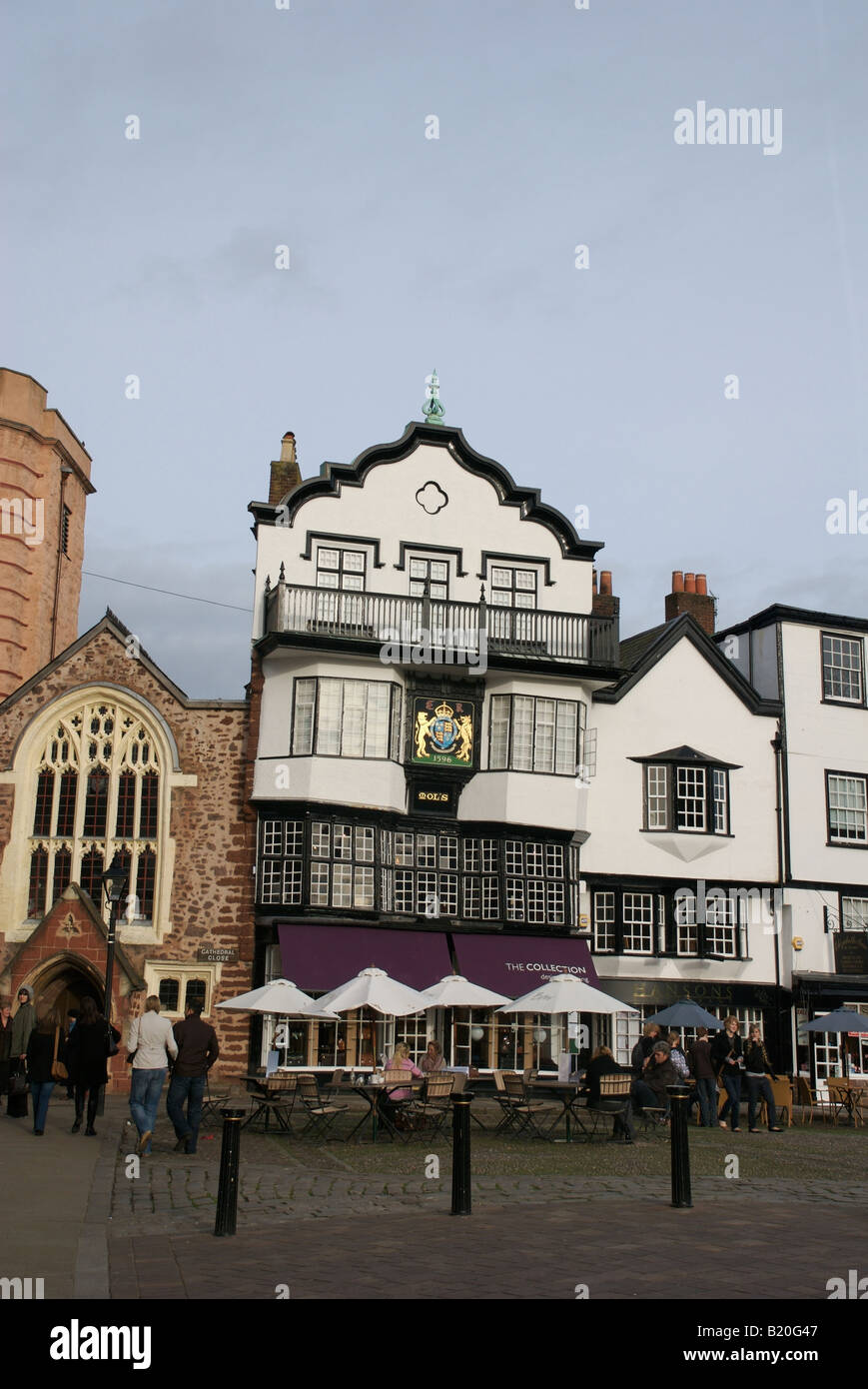 Mols Coffee house, Exeter, Devon, UK - Stock Image