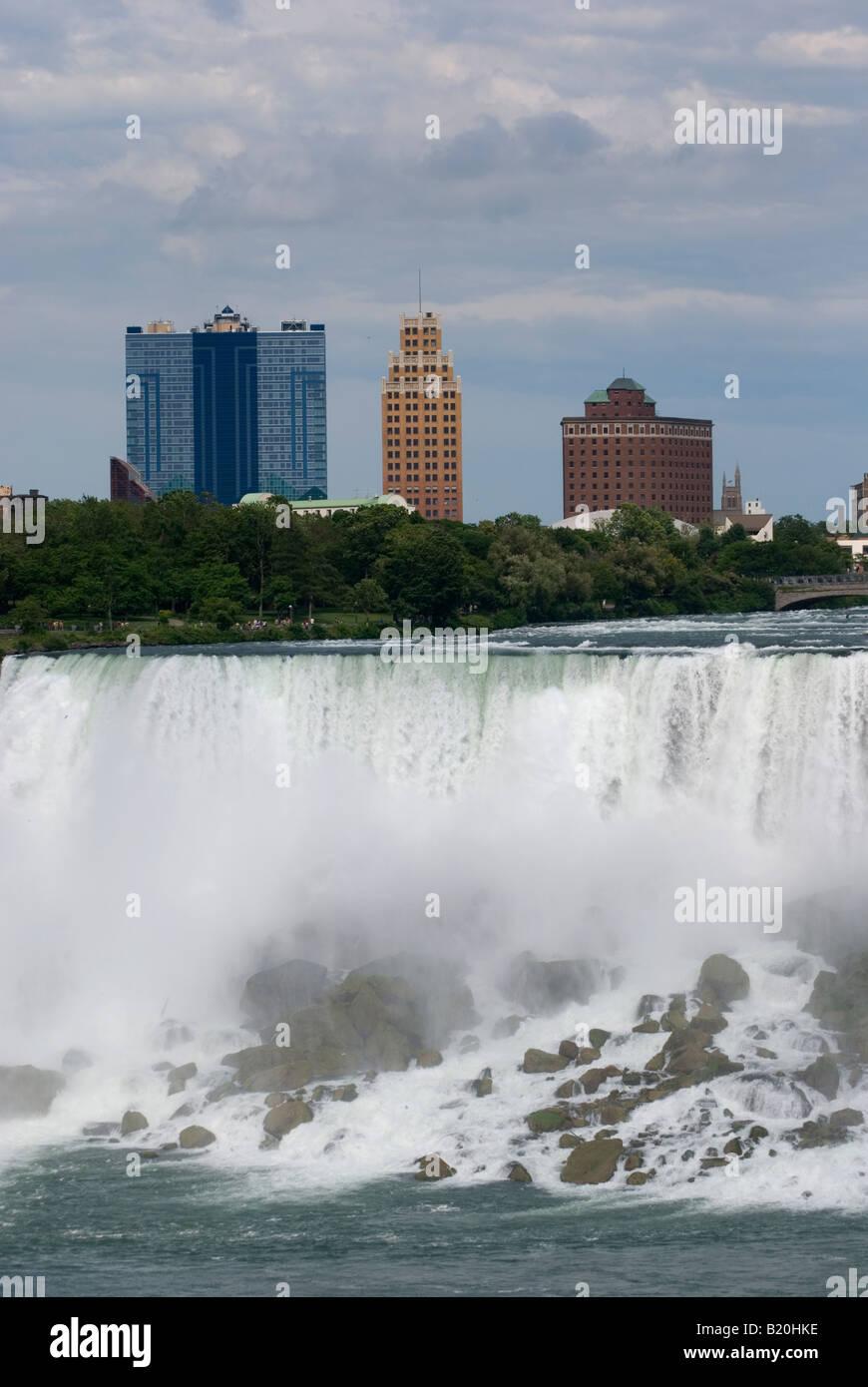 Seneca Niagara Casino And Hotel Niagara Falls New York Usa Stock Photo Alamy