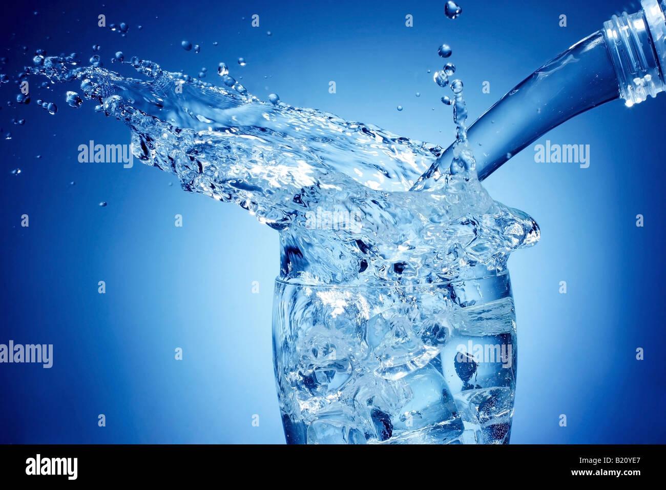 splash of water - Stock Image