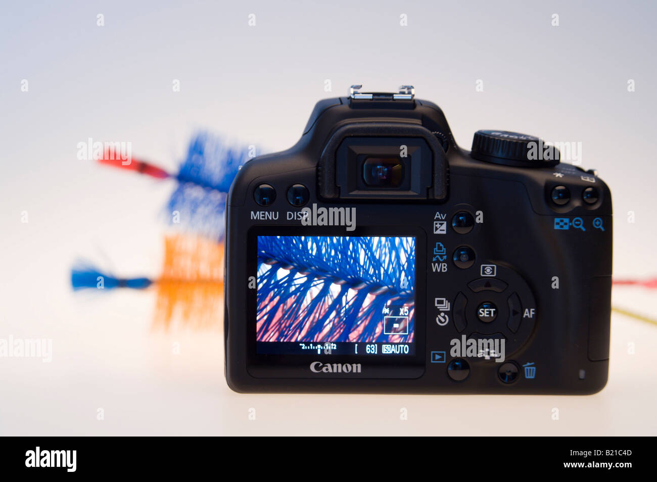 canon eos 1000d digital slr camera july 2008 launch product shot rh alamy com Canon EOS 1000D Tren Tay Canon EOS Rebel XS 1000D