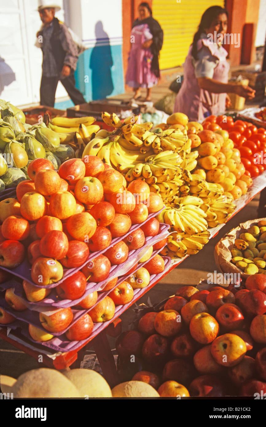 369a664a9c fruit is sold in the mercado Zaachila Oaxaca Mexico Stock Photo ...