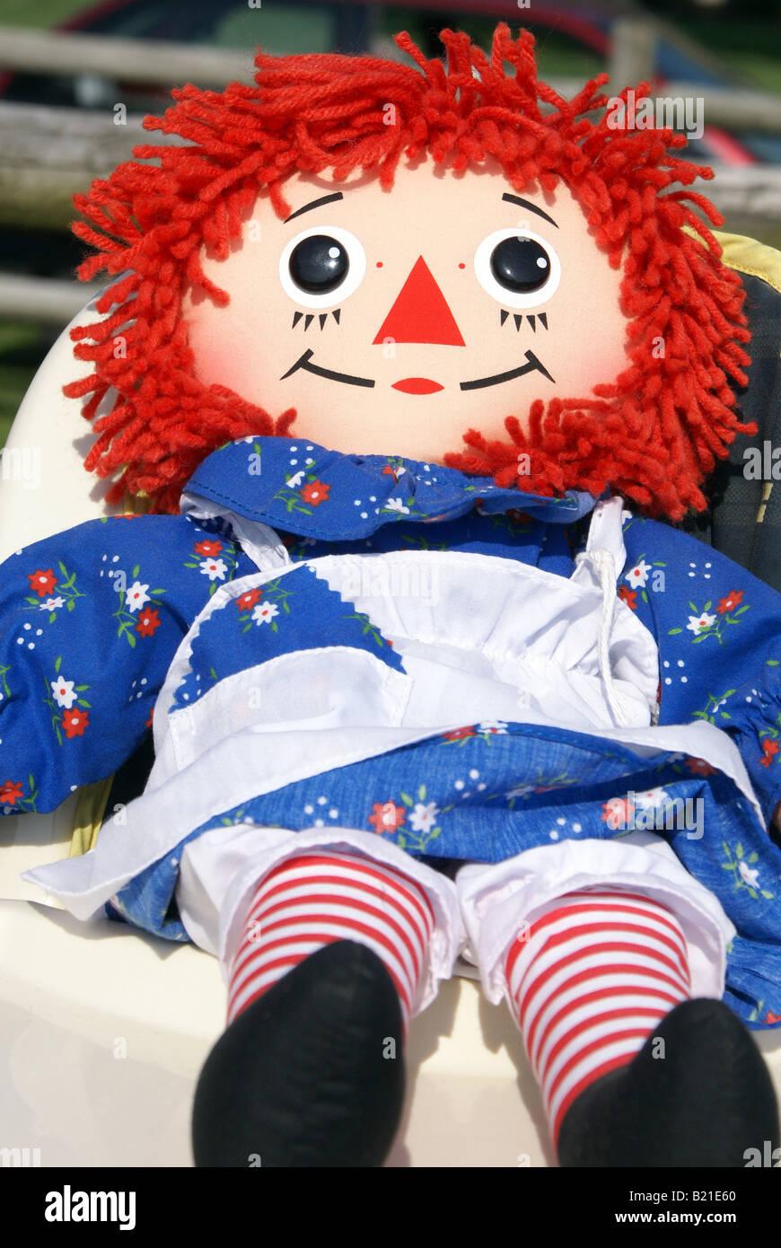 Raggedy Ann Doll Stock Photo Alamy