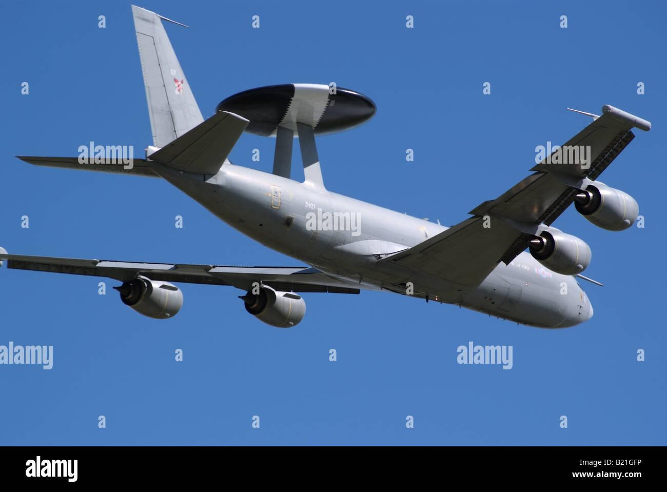 E3 Sentry Aew1 Raf Zh101 Inflight 200 Ife30514b