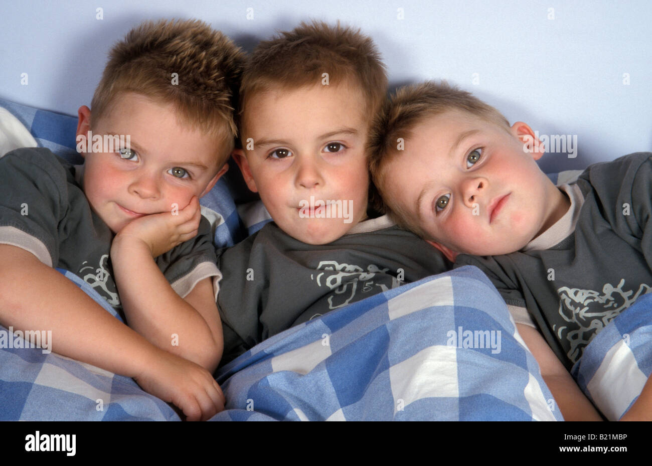 triplets boys stock photos triplets boys stock images alamy