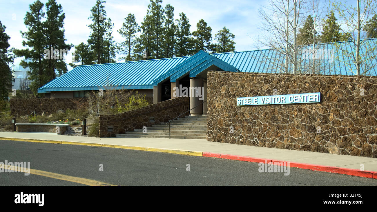 Steele Visitor Center at the Lowell Observatory in Flagstaff Arizona - Stock Image