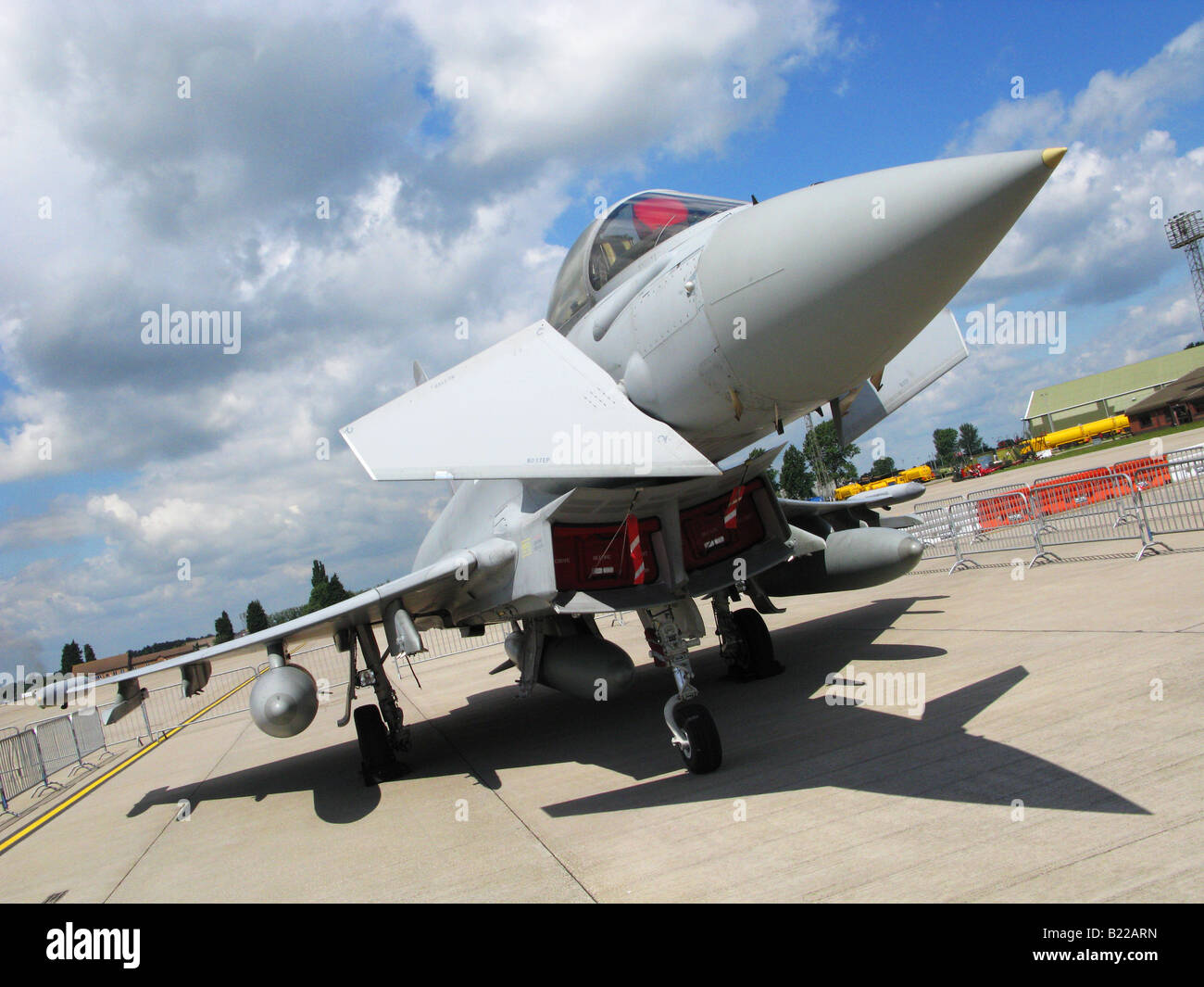 A growing presence in European Air Superiority Five of Europe's major Air Forces are already operating Eurofighter. - Stock Image