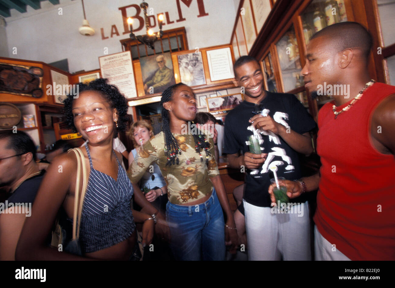 Hemingway Caribbean: La Bodeguita Del Medio Hemingway S Bar In Old Havana Cuba