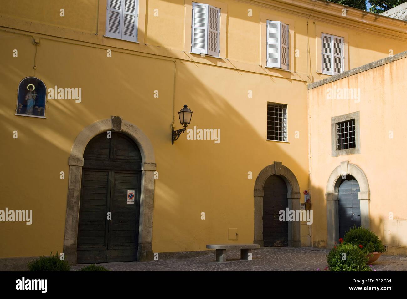 Papal summer quarters, Castelgandolfo, Italy - Stock Image