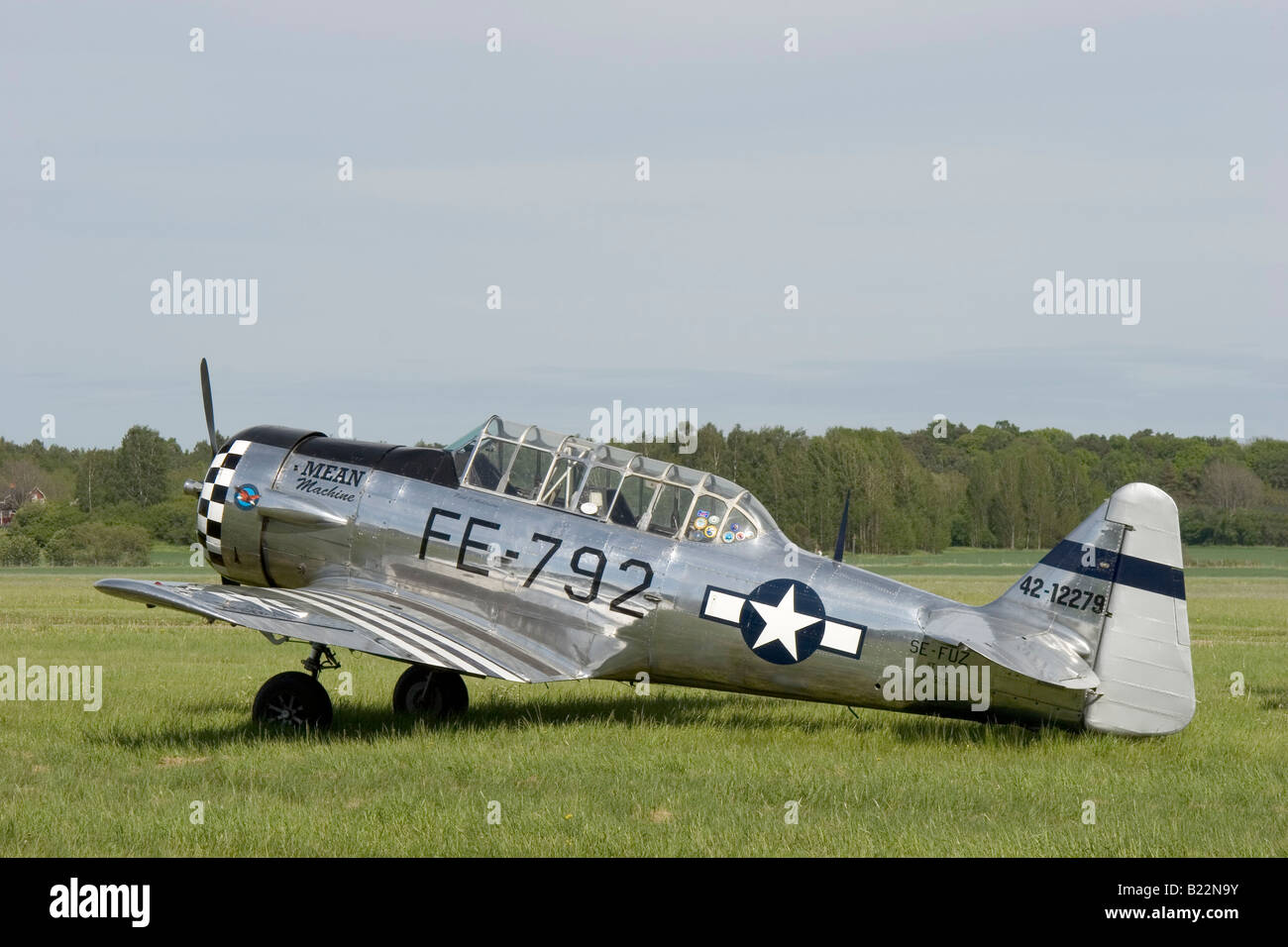 Training aircraft SK16 Sweden - Stock Image