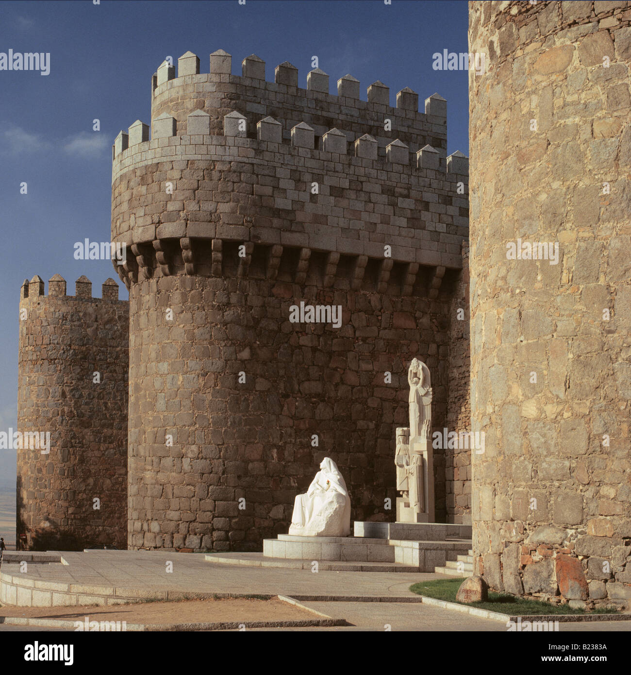 The Stonewalls Avila Spain - Stock Image