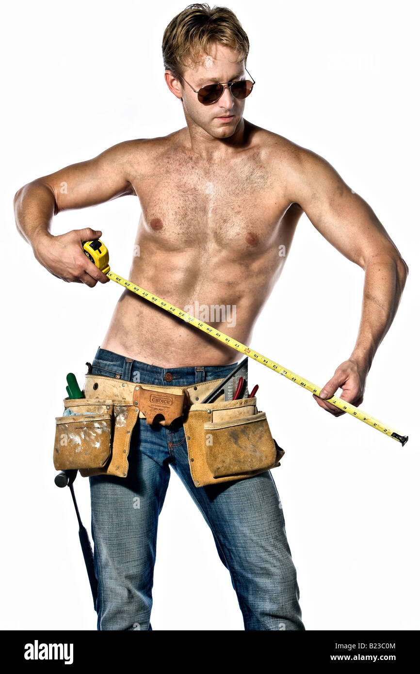 Naked handyman, surfers paradise