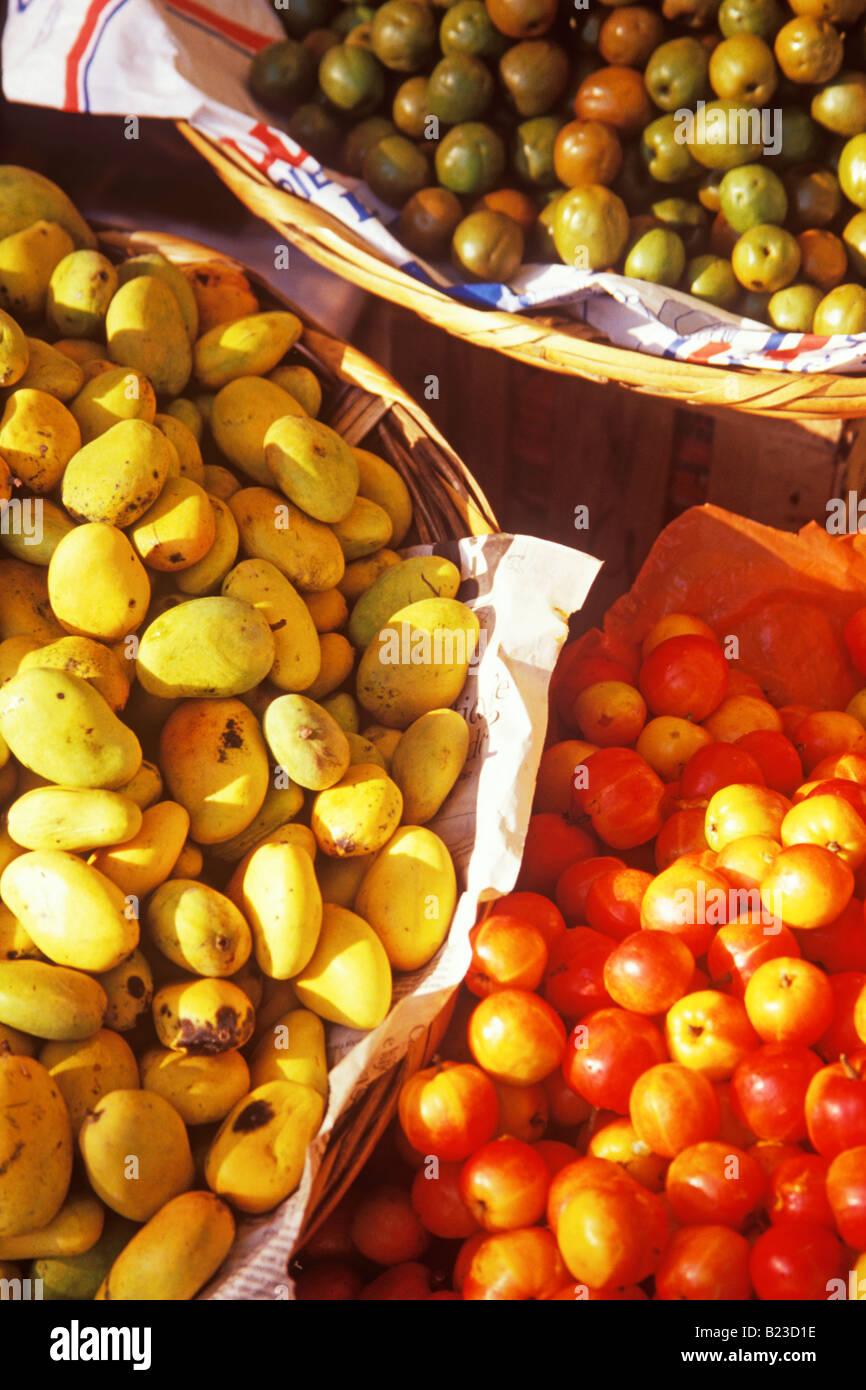 e84decf47f fruit for sale in the mercado Zaachila Oaxaca Mexico Stock Photo ...