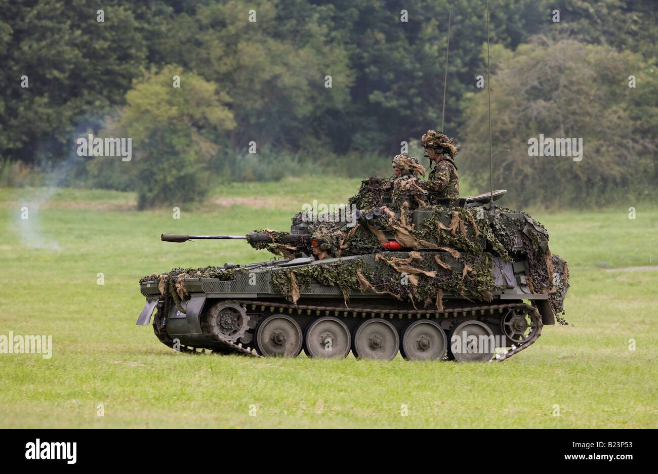 Scimitar Is An Armoured Reconnaissance Vehicle Sometimes Classed As A Stock Photo Alamy