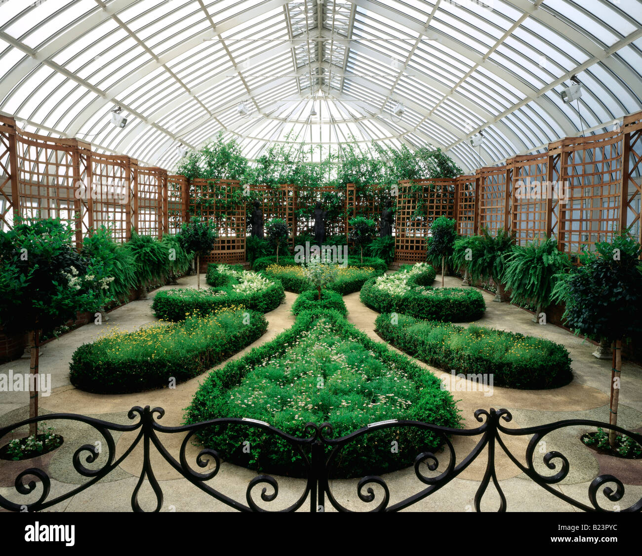 PHIPPS CONSERVATORY, SCHENLEY PARK, PITTSBURGH, PENNSYLVANIA, USA - Stock Image