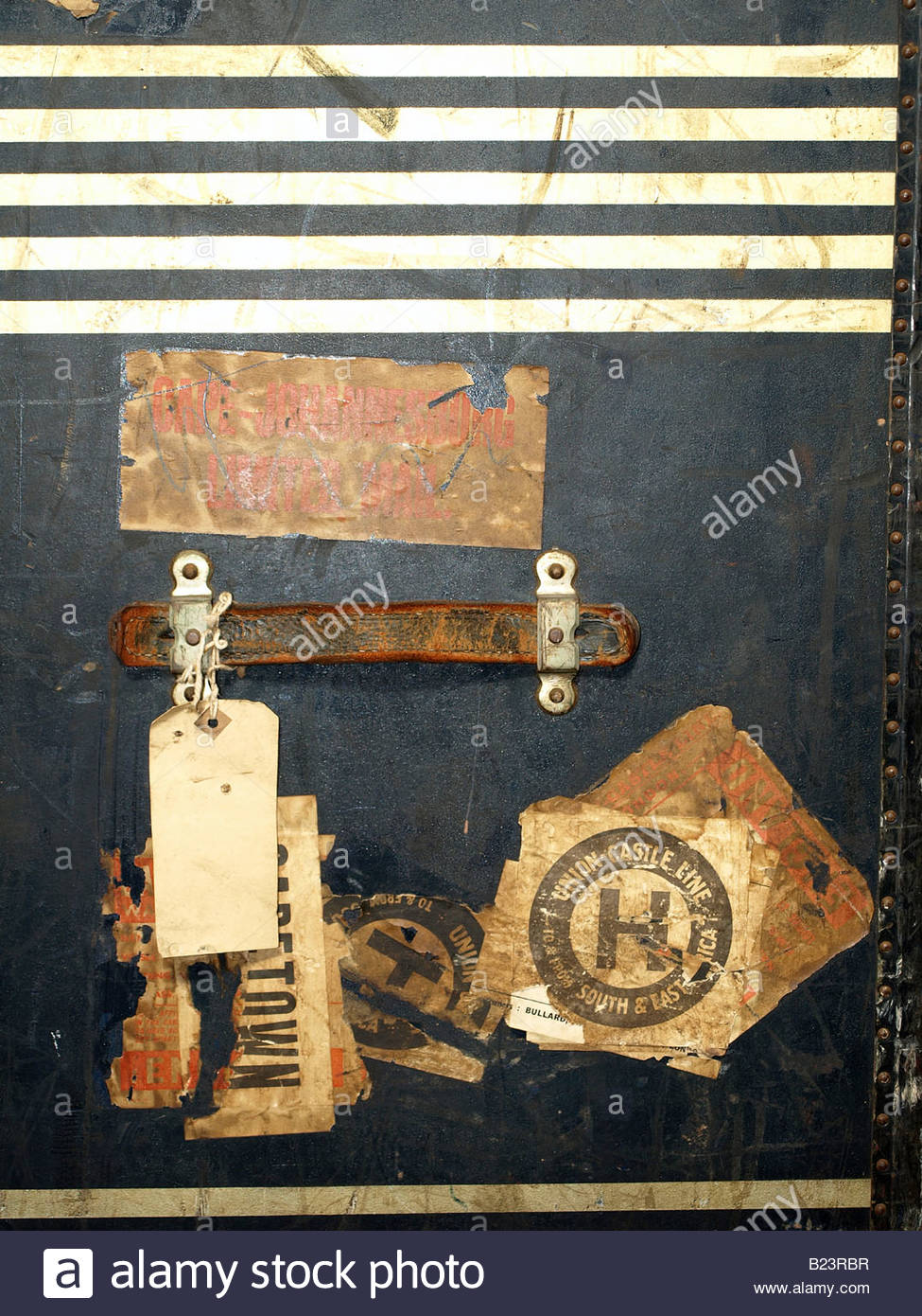 Vintage Travel Case Stickers and Labels which are very useful for many design purposes - Stock Image