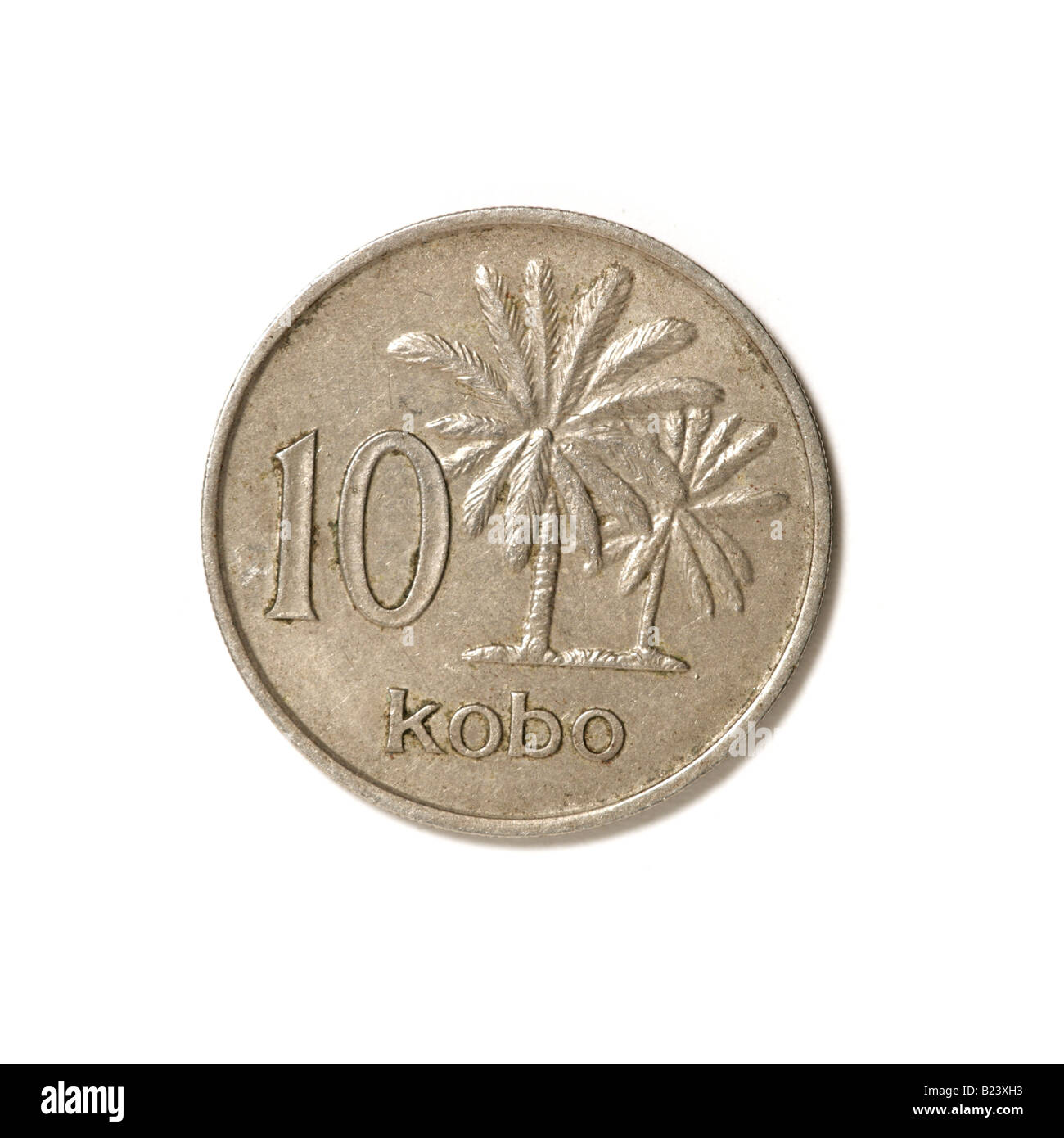 'Nigerian coin' 'Nigerian currency' - Stock Image