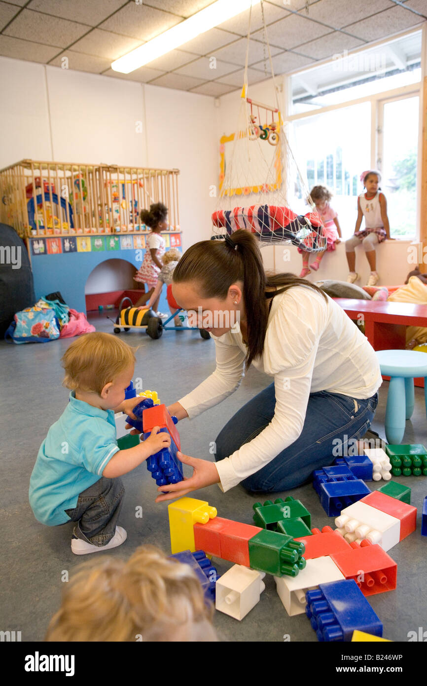 Daycare center - Stock Image